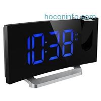 ihocon: Mpow FM Projection Alarm Clock 收音機投影鬧鐘