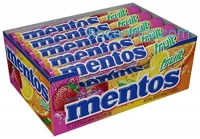 ihocon: Mentos Rolls, Mixed Fruit, 1.32 Ounce (Pack of 15)