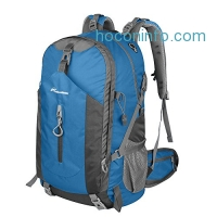 ihocon: OutdoorMaster Hiking Backpack 50L - Weekend Pack w/ Waterproof Rain Cover & Laptop Compartment - for Camping, Travel, Hiking