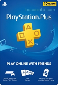 ihocon: 1 Year PlayStation Plus Membership - PS3/ PS4/ PS Vita [Digital Code]