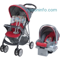 ihocon: Graco LiteRider Click Connect Travel System, with SnugRide Click Connect 22 Infant Car Seat, Signal