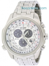 ihocon: Citizen Eco-Drive Perpetual Calendar Alarm Mens Watch BL5400-52A光動能男錶
