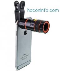 ihocon: Aduro U-SNAP 8X Zoom Magnifier Optical Lens For Universal Smartphones & Tablets 手機,平板電腦長鏡頭