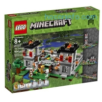 ihocon: LEGO Minecraft 21127 The Fortress Building Kit (984 Piece)