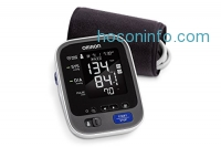 ihocon: Omron 10 Series Wireless Upper Arm Blood Pressure Monitor with Cuff that fits Standard and Large Arms (BP786N) with Bluetooth Smart Connectivity