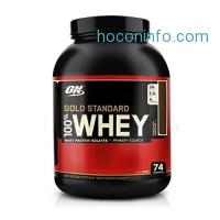 ihocon: Optimum Nutrition Gold Standard 100% Whey Protein Powder, Double Rich Chocolate, 5 Pound