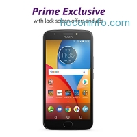 ihocon: Moto E Plus (4th Generation) - 16 GB - Unlocked (AT&T/Sprint/T-Mobile/Verizon) - Iron Gray - Prime Exclusive - with Lockscreen Offers & Ads