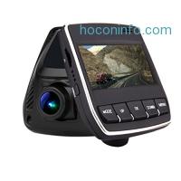 ihocon: Dash Cam Pro Car Camera DVR 2.45 Screen 165 Degree Wide Angle dashboard Vehicle Video Camcorder 1080P HD for Cars, Loop Recording,WiFi 行車記錄器
