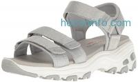 ihocon: Skechers Cali Women's D'Lites-Fresh Catch Wedge Sandal