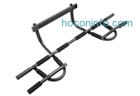 ihocon: ProSource Multi-Grip Chin-Up/Pull-Up Bar, Heavy Duty Doorway Trainer for Home Gym