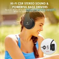 ihocon: Crabot On Ear Foldable Bluetooth Headphones with Mic藍芽無線麥克風耳機