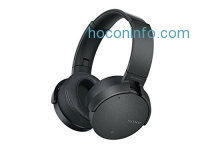 ihocon: Sony XB950N1 Extra Bass Wireless Noise Canceling Headphones, Black