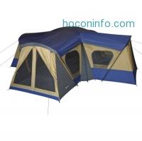 ihocon: Ozark Trail 14-Person 4-Room Base Camp Tent