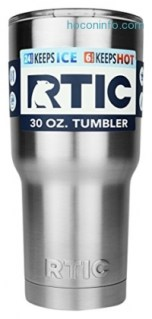 ihocon: Get RTIC Coolers 30 oz. Stainless Steel Double Vacuum Insulated Tumbler Bottle雙層不銹鋼保温杯