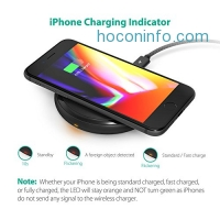 ihocon: RAVPower Fast QI Wireless Charger快速無線手機充電器
