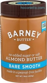 ihocon: Barney Butter Almond Butter, Bare Smooth, 16 Ounce