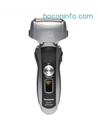 ihocon: Panasonic ES-LT41-K Arc3 Wet Dry Electric Razor, Men's 3-Blade Cordless with Flexible Pivoting Head, Wet/Dry