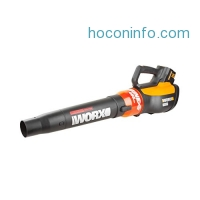 ihocon: WORX TURBINE 56V Cordless Blower with Brushless Motor, 125 MPH and 465 CFM Output with TURBO Boost and Variable Speed – WG591