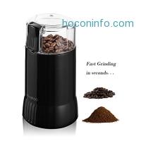 ihocon: Mindkoo Electric Coffee and Spice Grinders Food Ingredients Pepper Herb Mill Grater
