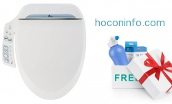 ihocon: Groupon Exclusive: BB-600 Bidet Toilet Seat with Free Travel Bidet免治沖水馬桶座及旅行用沖水器