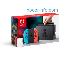 ihocon: Nintendo Switch Gaming Console with Neon Blue and Neon Red Joy-Con - Walmart.com