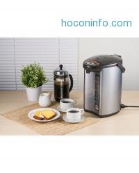 ihocon: Zojirushi CD-WCC40TS Micom 4L Water Boiler & Warmer