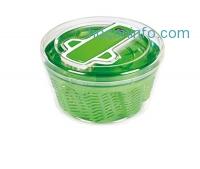 ihocon: ZYLISS Swift Dry Salad Spinner, Large, Green