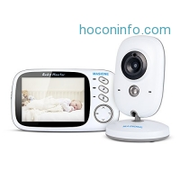 ihocon: Masione Video Baby Monitor夜視嬰兒監看器