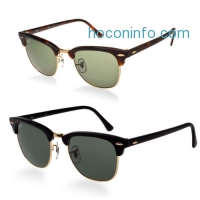 ihocon: Ray-Ban RB3016 Classic Clubmaster Sunglasses