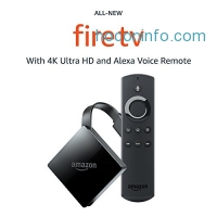 ihocon: All-New Fire TV with 4K Ultra HD and Alexa Voice Remote (2017 Edition, Pendant)   Streaming Media Player