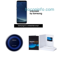 ihocon: Samsung Galaxy S8 US Factory Unlocked Phone with Special Edition Qi Certified Fast Charge Wireless Charger and $100 Amazon Gift Card