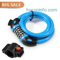 ihocon: joyous Bike Lock, 4 Feet 腳踏車鎖