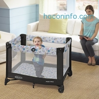 ihocon: Graco Pack 'n Play Playard with Automatic Folding Feet, Carnival
