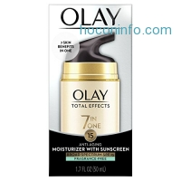 ihocon: Olay Total Effects Anti-Aging Face Moisturizer with SPF 15, Fragrance-Free 1.7 fl oz