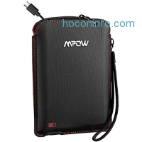 ihocon: Mpow USB Charging Case for Bluetooth Headphones with Built-in 800mAh battery 藍芽耳機充電收納袋