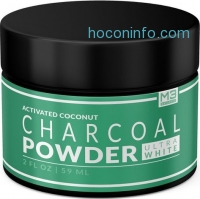 ihocon: Premium Teeth Whitening Charcoal Powder - All Natural Coconut Activated Charcoal and Bentonite Clay 天然牙齒美白活性碳粉