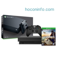 ihocon: Xbox One X 1TB Console with Tom Clancy's Ghost Recon Wildlands