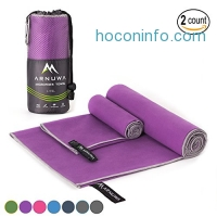 ihocon: Arnuwa Microfiber Sport Travel Towel Set