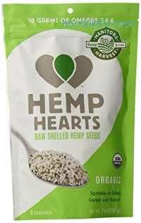 ihocon: Manitoba Harvest Organic Hemp Hearts Raw Shelled Hemp Seeds, 7 Ounce