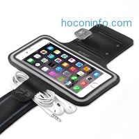 ihocon: AUKEY iPhone 7 Sports Armband with Key Slots 手機臂套