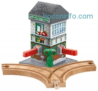 ihocon: Fisher-Price Thomas & Friends Wooden Railway, Christmas Crossings - Battery Operated