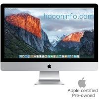 ihocon: Apple MK452LL/A iMac 21.5 AIO Desktop, 4K Retina Display, Intel Core i5-5675R Quad-Core 3.1GHz, 1TB SATA, macOS 10.11 El Capitan (Certified Refurbished)