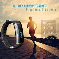 ihocon: EIVOTOR Activity Tracker with Wrist-Based Heart Rate Monitor心率監控運動手環