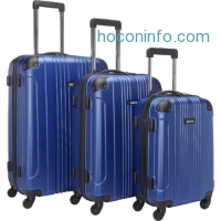ihocon: Kenneth Cole Reaction Out of Bounds 3 Piece Hardside Luggage Set硬殼行李箱組