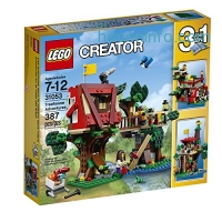 ihocon: LEGO Creator 31053 Treehouse Adventures Building Kit (387 Piece)