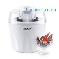ihocon: CHULUX Ice Cream Maker / Frozen Yogurt Sorbet Machine,1.5 Quart 冰淇淋機