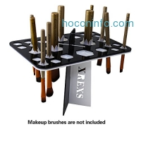 ihocon: XREXS 26 HoleMakeup Brush Holder + 4 Pieces Foundation Sponges