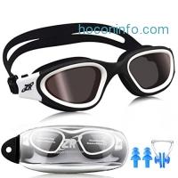 ihocon: ZIONOR G1 Polarized Swim Goggles with UV , Anti-fog 偏光蛙鏡