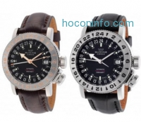 ihocon: GLYCINE Airman 18 GMT Automatic Men's Watches