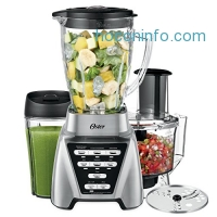 ihocon: Oster Pro 1200 Blender 3-in-1 with Food Processor Attachment and XL Personal Blending Cup